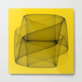 Abstract #7 Metal Print