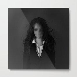 Slender Woman Metal Print