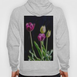 Tulips Brillant Fibers Hoody