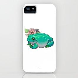 Succulent Frog iPhone Case