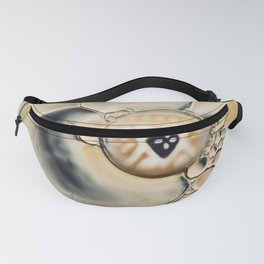 oil water abstract Fanny Pack