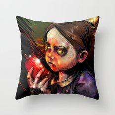 Little Sister Throw Pillow