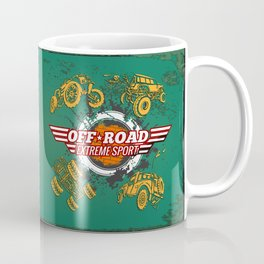Offroad Extreme Sport Coffee Mug