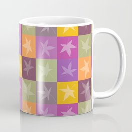 Autumn Checkerboard Coffee Mug