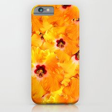 Hibiscus Random Pattern Slim Case iPhone 6s