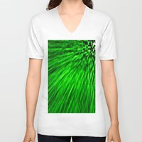 emerald V-neck T-shirts featuring Emerald by Simply Chic