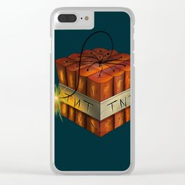 TNT Clear iPhone Case