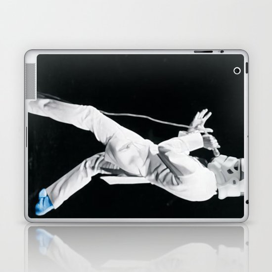Blue Suede Trooper _ elvis and star wars Laptop & iPad Skin