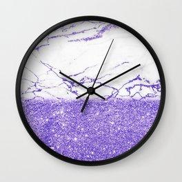 Ultra Violet Wall Clock