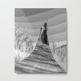 """Ghost Slide 1"" by Murray Bolesta! Metal Print"