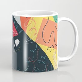 Trumpet Cat Coffee Mug