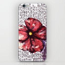 Juno Flower iPhone Skin