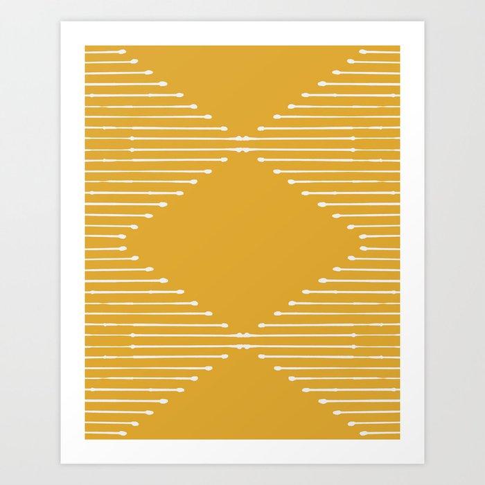 Geo / Yellow Kunstdrucke