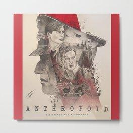 Anthropoid Metal Print