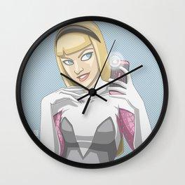 Gwen Selfie Wall Clock