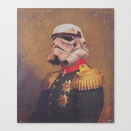 Storm Trooper General | Fanart Canvas Print