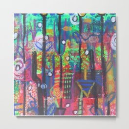Enchanted Forrest Metal Print