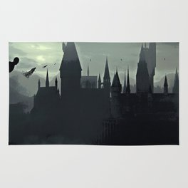 Harry Potter - The Dementors Come To Hogwarts Rug