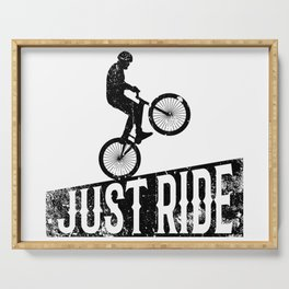 Just ride Serving Tray