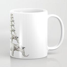 7 elefantes con gafas Coffee Mug