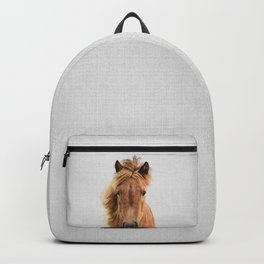 Wild Horse - Colorful Backpack