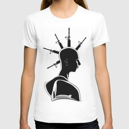 Machine Gun Mohawk T-shirt