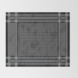 Inverted kofia Throw Blanket