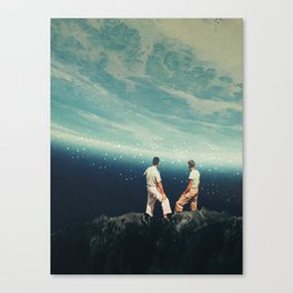 The Earth was crying and We were there Canvas Print