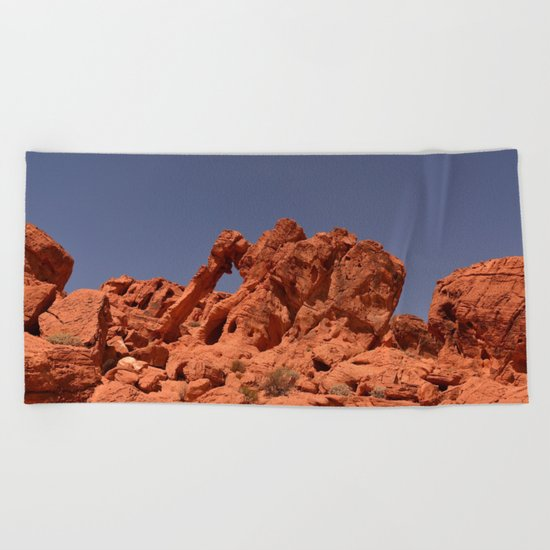 Elephant Rock Beach Towel