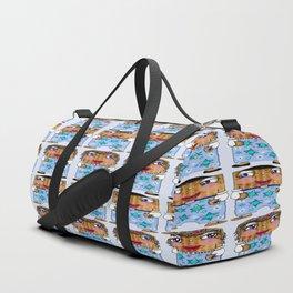 Matzo Boy and Matzo Girl together for Hanukkah! Duffle Bag