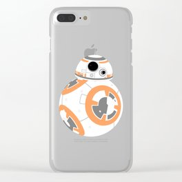 BB-8 Pattern Clear iPhone Case