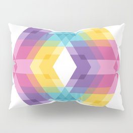 Fig. 019 Colorful Geometric Shapes Pillow Sham