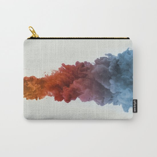 Ink Rainbow Carry-All Pouch
