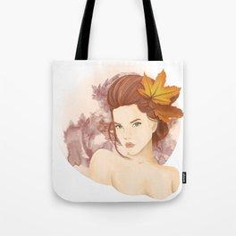 September Girl Tote Bag