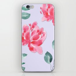 Rustic Floral Pattern iPhone Skin