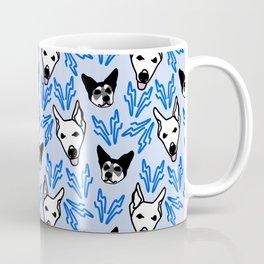 Monty & Nora Blue Coffee Mug