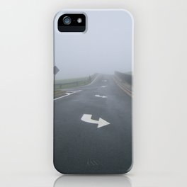 Fogged In/Wrong Way iPhone Case