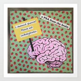 brain food Art Print