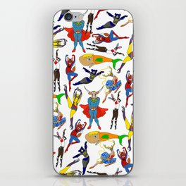 Superhero Animals iPhone Skin