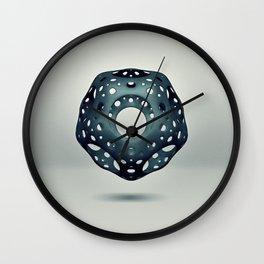 Cavus Icosahedron Wall Clock