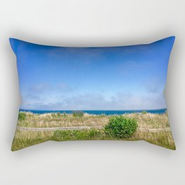 Sconset Lighthouse View in Nantucket Rectangular Pillow