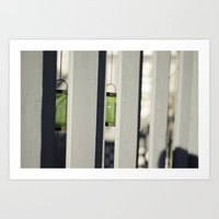 lime green Art Prints featuring Lime Green by Kevin Gobelman