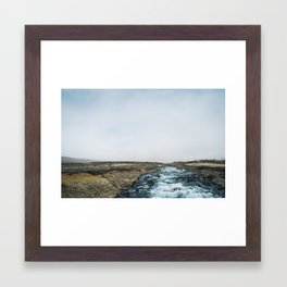 Iceland Stream Framed Art Print