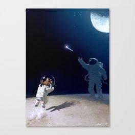 Some alone Canvas Print