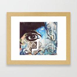 A Splash of Everything Framed Art Print