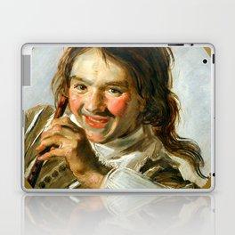 "Frans Hals ""Boy holding a Flute (Hearing)"" Laptop & iPad Skin"
