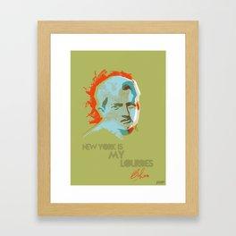 Brendan Behan Framed Art Print
