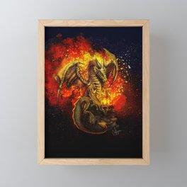 The bringer of light Framed Mini Art Print