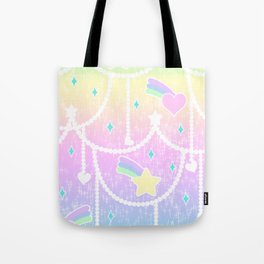 Beads and Stickers Tote Bag