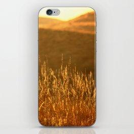 Golden hills iPhone Skin